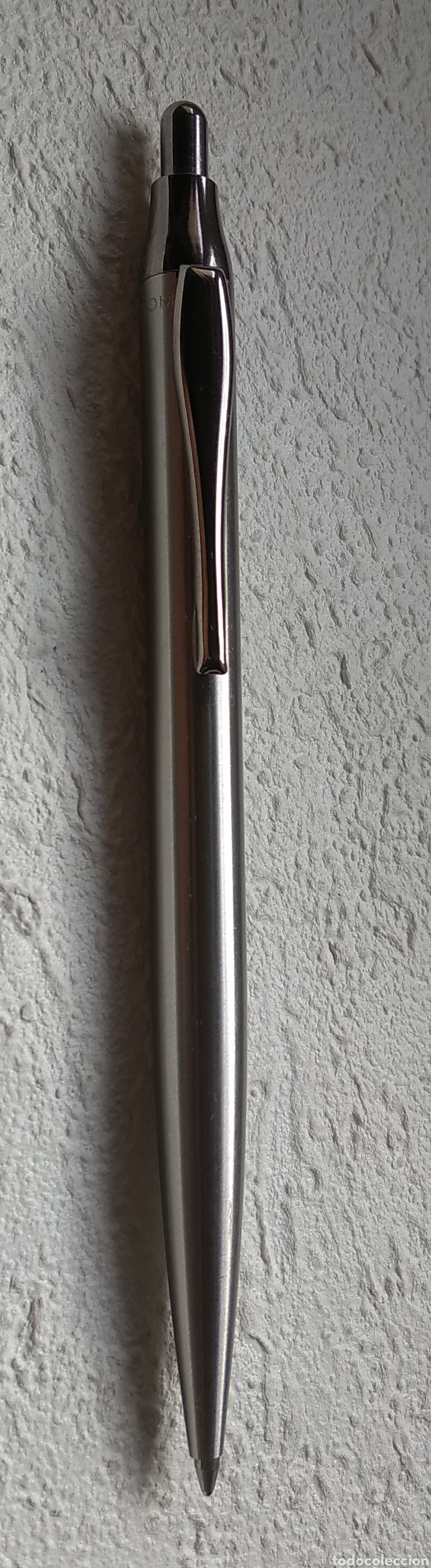 Bolígrafos antiguos: Bolígrafo INOXCROM - Foto 2 - 208660340