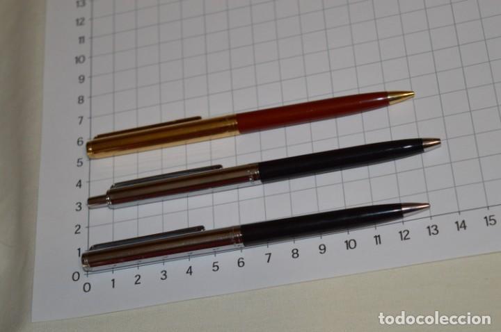 Bolígrafos antiguos: 3 PAPER MATE / Diferentes modelos / 1 BOLÍGRAFO y 2 PORTAMINAS - ¡Mira fotografías/detalles! Lote 08 - Foto 2 - 209420252