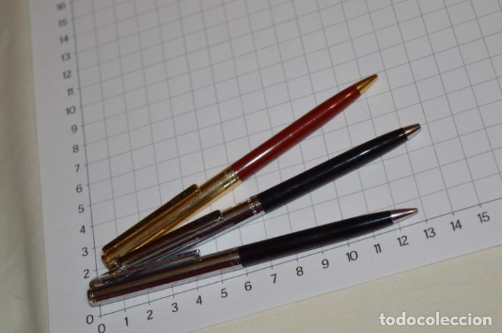 Bolígrafos antiguos: 3 PAPER MATE / Diferentes modelos / 1 BOLÍGRAFO y 2 PORTAMINAS - ¡Mira fotografías/detalles! Lote 08 - Foto 3 - 209420252