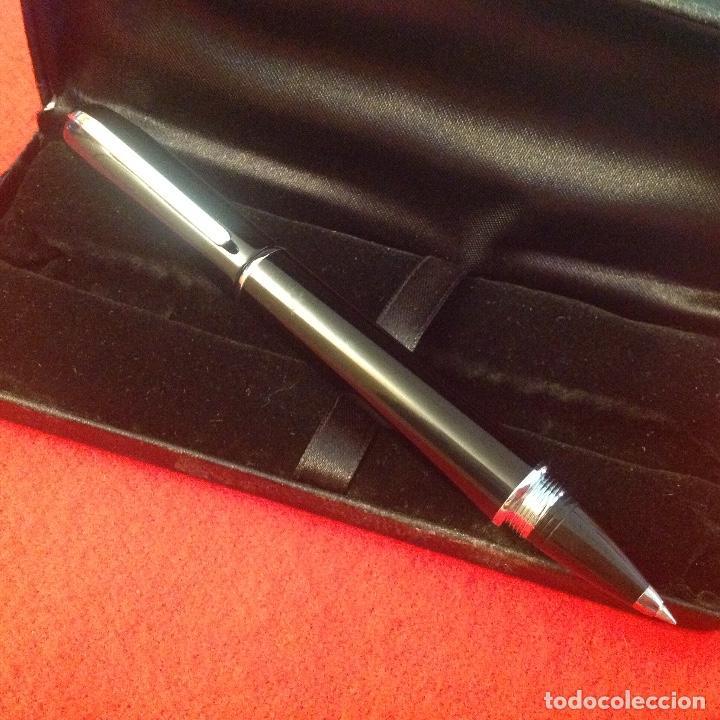 Bolígrafos antiguos: Precioso bolígrafo, gran calidad, de tv3, en su estuche original, nuevo a estrenar - Foto 2 - 213339323