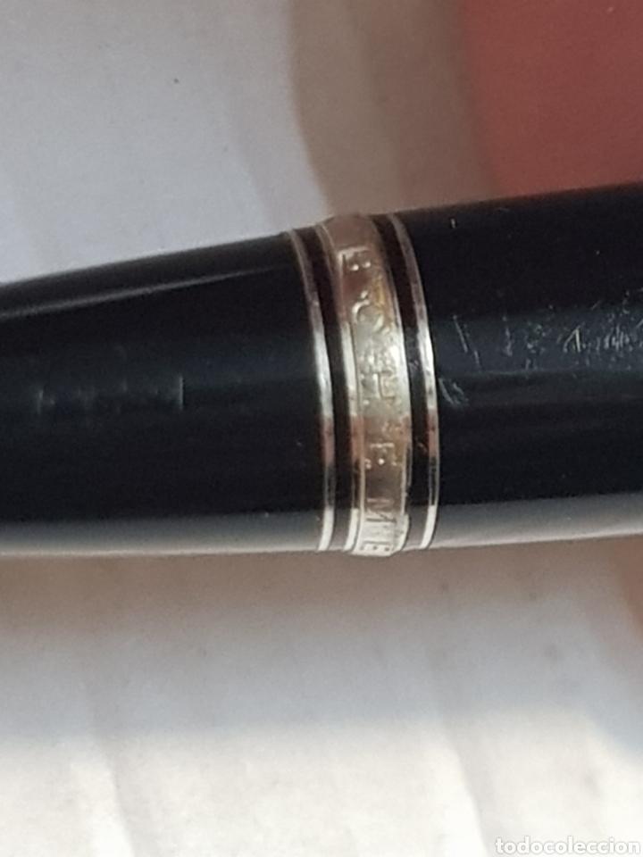 Bolígrafos antiguos: Bolígrafo Mont Blanc Boheme Noir original y numerado escaso - Foto 5 - 211416490