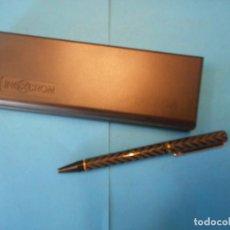 Bolígrafos antiguos: BOLÍGRAFO INOXCROM. NO GARANTIZAMOS SU FUNCIONAMIENTO.. Lote 215514362