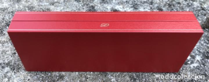 Bolígrafos antiguos: Caja para bolígrafo ST. Dupont - Paris - incluye caja de cartón y toda la documentación - Foto 6 - 217265975