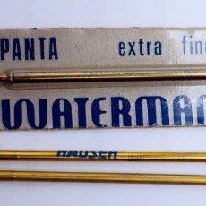 Bolígrafos antiguos: 3 RECAMBIOS BOLÍGRAFO WATERMAN / HAUSER. Lote 218249425