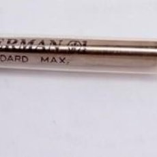 Bolígrafos antiguos: RECAMBIO AZUL BOLÍGRAFO WATERMAN. Lote 218249495