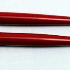 Bolígrafos antiguos: 2 BOLÍGRAFOS RETRO. Lote 218251263