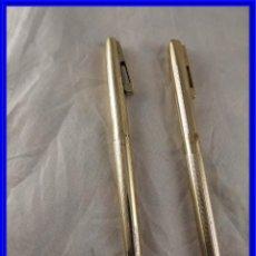 Bolígrafos antiguos: PAREJA DE BOLIGRAFOS SHEAFFER. Lote 219213993