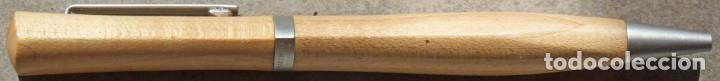Bolígrafos antiguos: BOLIGRAFO DE MADERA Y METAL. MARTINI 1866 - Foto 2 - 221008337