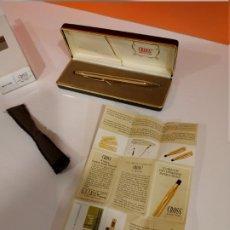 Bolígrafos antiguos: BONITO BOLIGRAFO CROSS 14K GOLD FILLED. EN PERFECTO ESTADO, SIN USO. NUEVO. BOLIGRAFO DE COLECCION.. Lote 221627545