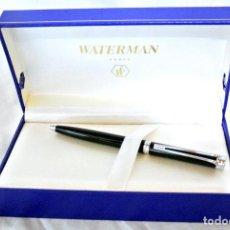 Bolígrafos antiguos: BOLIGRAFO WATERMAN HARMONIE BLACK - NEGRO , NUEVO CON ESTUCHE. Lote 222231702