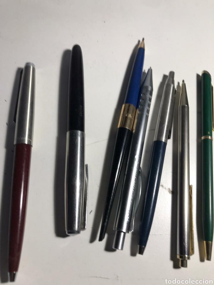 Bolígrafos antiguos: Lote de bolígrafos varías marcas - Foto 2 - 223409067