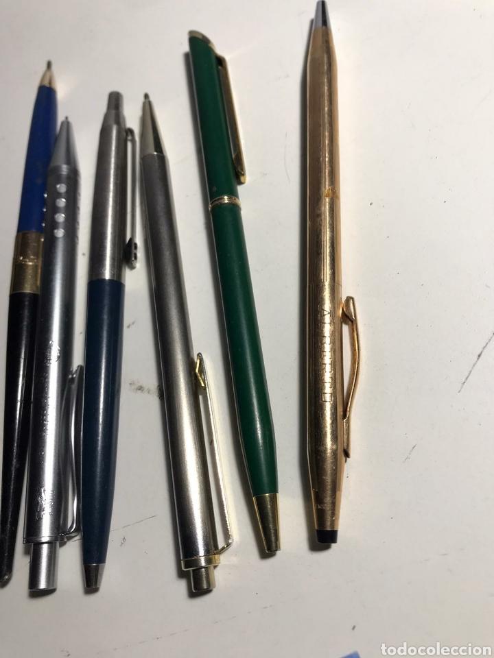 Bolígrafos antiguos: Lote de bolígrafos varías marcas - Foto 3 - 223409067