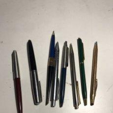Bolígrafos antiguos: LOTE DE BOLÍGRAFOS VARÍAS MARCAS. Lote 223409067