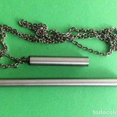 Bolígrafos antiguos: BOLIGRAFO INOXCRON CON CADENA. Lote 226231465