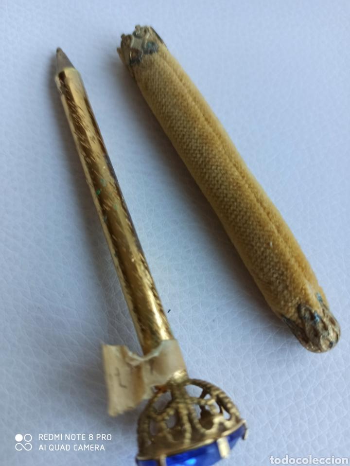 Bolígrafos antiguos: Boligrafo con piedra años 60-70 - Foto 3 - 229391220