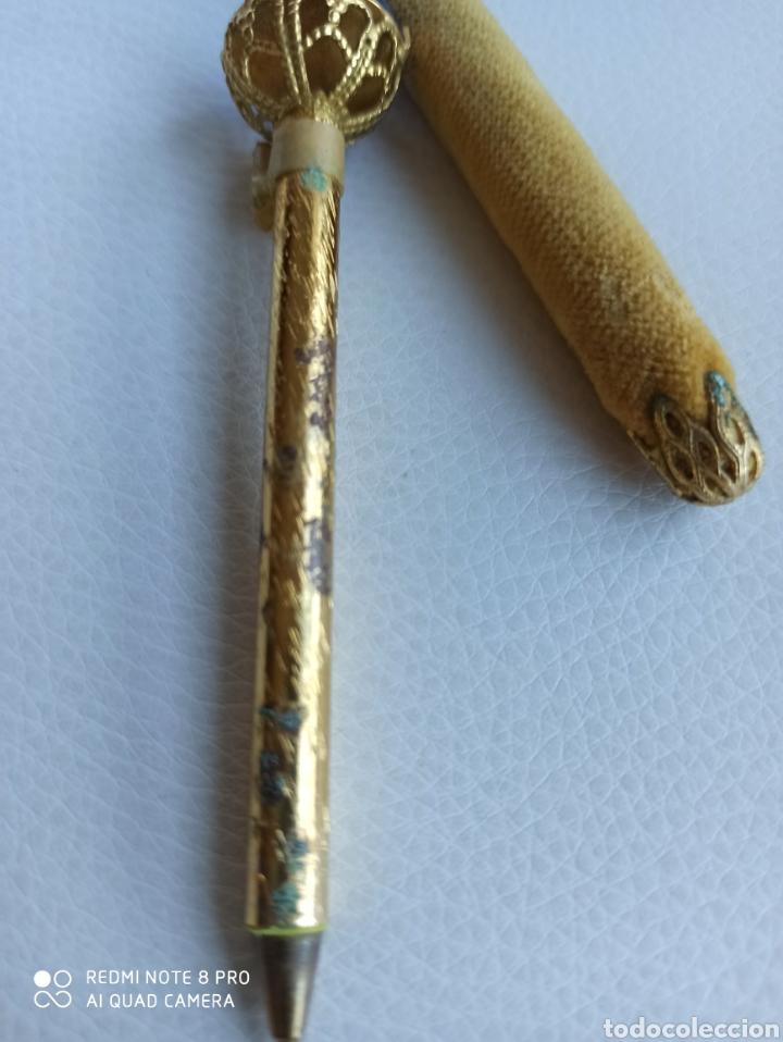 Bolígrafos antiguos: Boligrafo con piedra años 60-70 - Foto 4 - 229391220