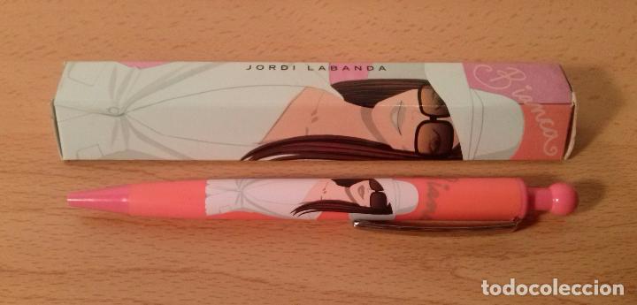 Bolígrafos antiguos: Bolígrafo Jordi Labanda. Modelo Bianca Color Rosa coral. Inoxcrom. En caja. Ver descripción. - Foto 2 - 234890945