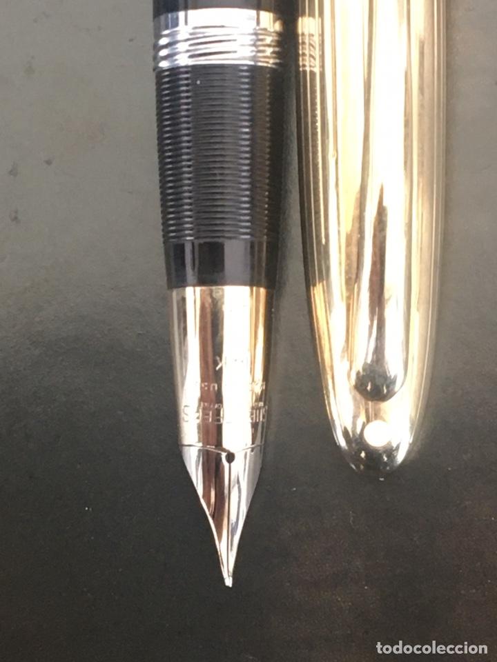 Bolígrafos antiguos: Sheaffer Snorkel Crest Lefitime 1950'S USA - Foto 4 - 234922985