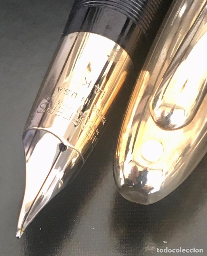 Bolígrafos antiguos: Sheaffer Snorkel Crest Lefitime 1950'S USA - Foto 5 - 234922985