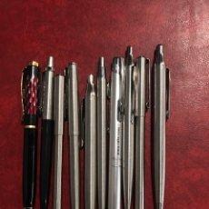 Bolígrafos antiguos: LOTE DE 10 BOLÍGRAFO LOS DE LAS FOTOGRAFÍAS. Lote 235320870
