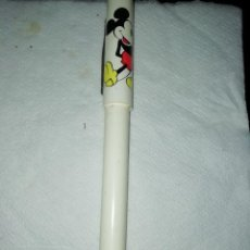 Bolígrafos antiguos: NATIONAL DESIGN CORP BOLIGRAFO ROTULADOR MICKEY MOUSE. Lote 235811895