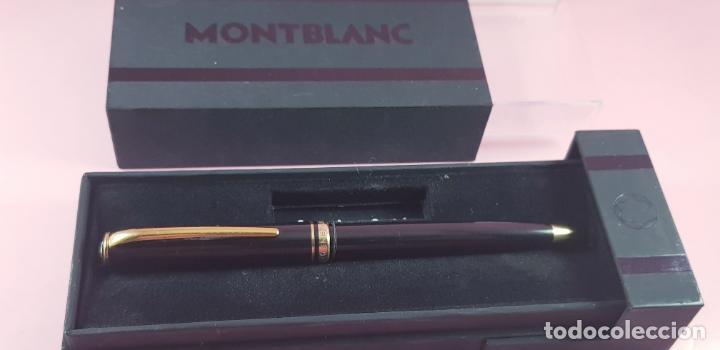 Bolígrafos antiguos: 10513·/bolígrafo-montblanc generation-germany-negro+oro-cajas-excelente estado-coleccionistas- - Foto 4 - 236258305