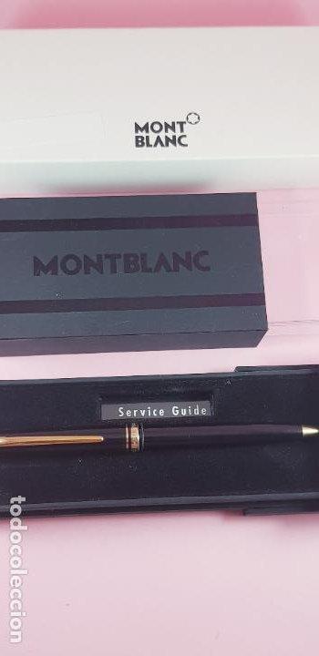 Bolígrafos antiguos: 10513·/bolígrafo-montblanc generation-germany-negro+oro-cajas-excelente estado-coleccionistas- - Foto 11 - 236258305