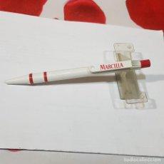 Bolígrafos antiguos: BOLÍGRAFO DE PUBLICIDAD MARCILLA. Lote 236562810