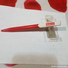Bolígrafos antiguos: BOLÍGRAFO DE PUBLICIDAD ADECCO. Lote 236566710