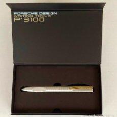 Bolígrafos antiguos: BOLÍGRAFO PORSCHE DESIGN TITANIO MODELO P3120. Lote 243561060