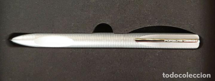 Bolígrafos antiguos: Bolígrafo Porsche design titanio modelo p3120 - Foto 2 - 243561060