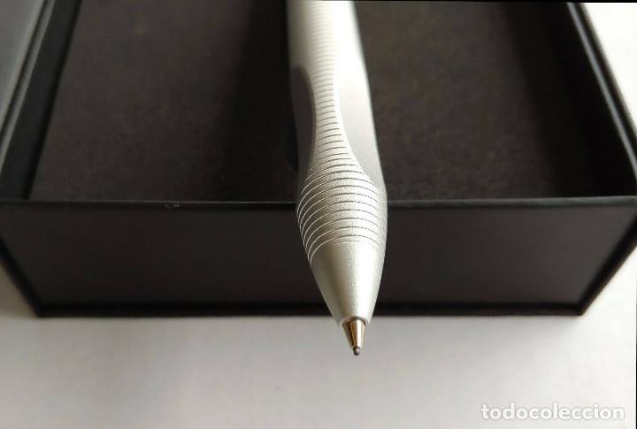 Bolígrafos antiguos: Bolígrafo Porsche design titanio modelo p3120 - Foto 5 - 243561060