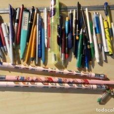 Bolígrafos antiguos: COLECCION DE LAPICES Y BOLIGRADOS DE PROPAGANDA. Lote 243836125