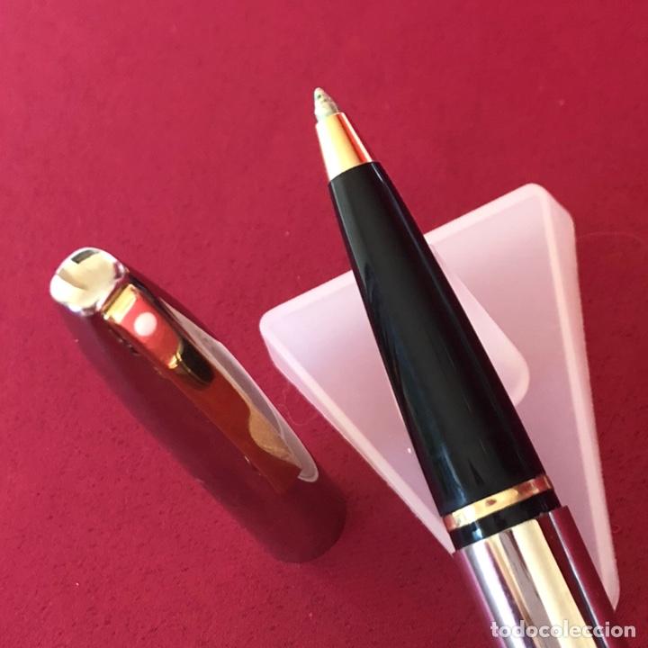 Bolígrafos antiguos: ROLLER SHEAFFER ACERO - Foto 4 - 244675860