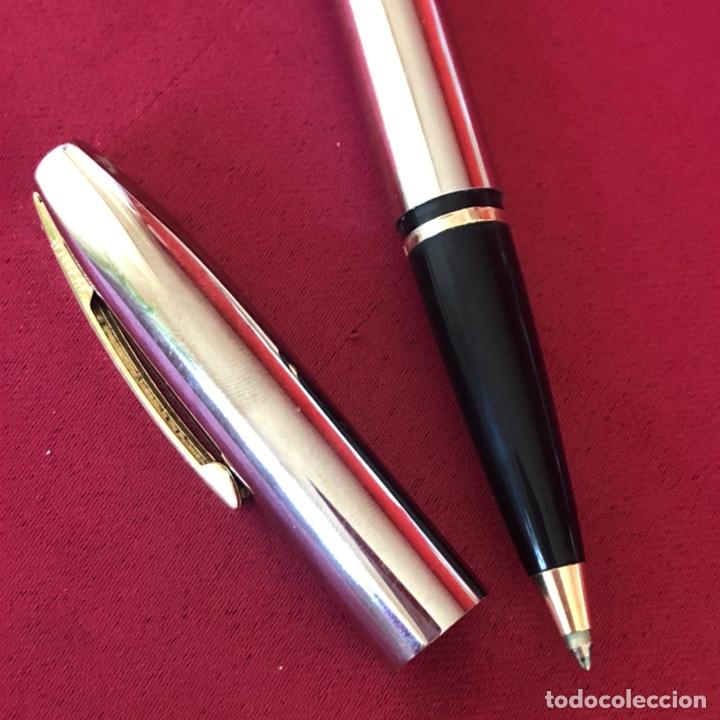 Bolígrafos antiguos: ROLLER SHEAFFER ACERO - Foto 7 - 244675860