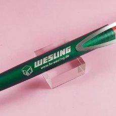 Bolígrafos antiguos: BOLÍGRAFO-MESSMER-GERMANY-F.W.WESLING.DINAMARCA-ESCRIBE Y FUNCIONA PERFECTAMENTE.. Lote 244693555