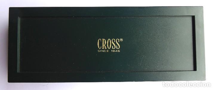 PLU-15. BOLÍGRAFO CROSS. 1/20 ROLLED GOLD 10 K. MADE IN IRELAND. CON ESTUCHE E INSTRUCCIONES. (Plumas Estilográficas, Bolígrafos y Plumillas - Bolígrafos)