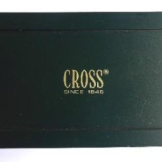 Bolígrafos antiguos: PLU-15. BOLÍGRAFO CROSS. 1/20 ROLLED GOLD 10 K. MADE IN IRELAND. CON ESTUCHE E INSTRUCCIONES.. Lote 245280895