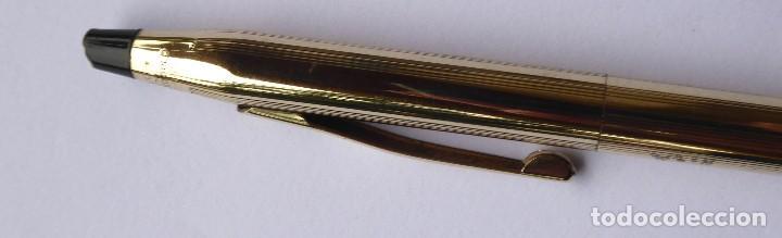 Bolígrafos antiguos: PLU-15. BOLÍGRAFO CROSS. 1/20 ROLLED GOLD 10 K. MADE IN IRELAND. CON ESTUCHE E INSTRUCCIONES. - Foto 5 - 245280895