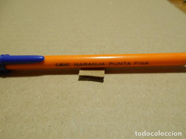 BOLIGRAFO ANTIGUO BIC NARANJA PUNTA FINA (Plumas Estilográficas, Bolígrafos y Plumillas - Bolígrafos)