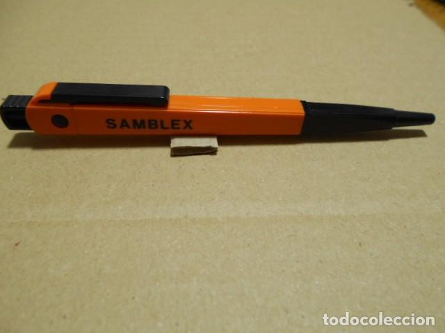 "Bolígrafos antiguos: BOLIGRAFO ANTIGUO PUBLICIDAD "" COALSA, SAMBLEX "" - Foto 2 - 246019630"