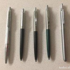 Bolígrafos antiguos: LOTE DE BOLÍGRAFOS DE MARCA.. Lote 246133540