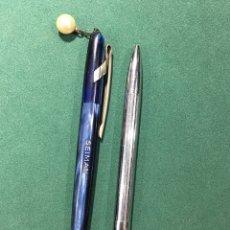 Bolígrafos antiguos: BOLIGRAFOS SEIMAN WATERMAN. Lote 248173770