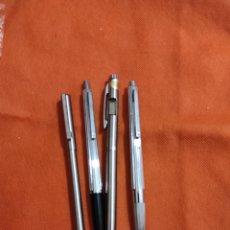 Bolígrafos antiguos: LOTE DE BOLIGRAFOS INOXCROM. Lote 248298600