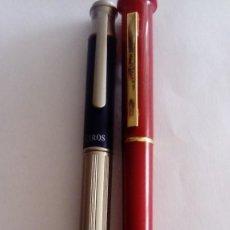 Bolígrafos antiguos: DOS BOLÍGRAFOS, UN CIROS Y UN PIERRE CARDIN. Lote 252351825