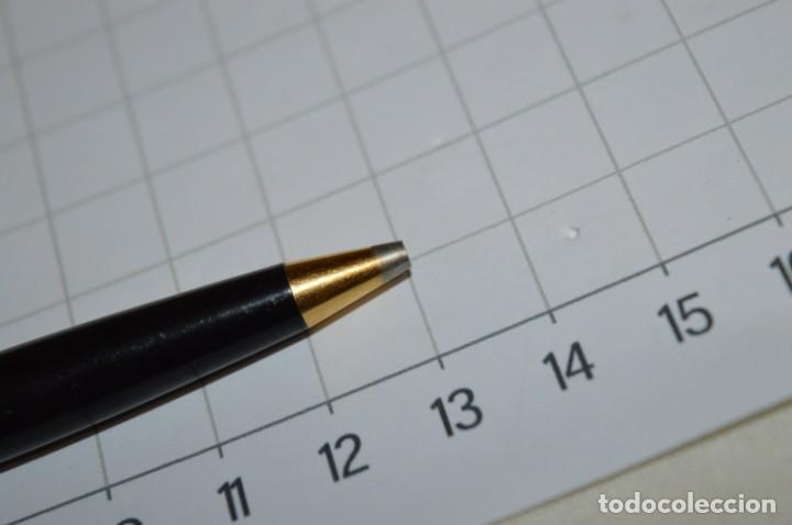 Bolígrafos antiguos: Super T / Bolígrafo plaque ORO 14 Qts - MECANISMO FUNCIONA CORRECTAMENTE - Buen estado ¡Mira fotos! - Foto 5 - 253889240