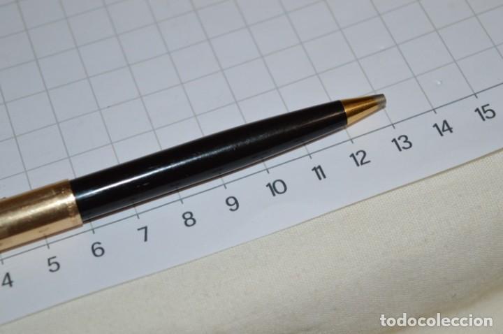 Bolígrafos antiguos: Super T / Bolígrafo plaque ORO 14 Qts - MECANISMO FUNCIONA CORRECTAMENTE - Buen estado ¡Mira fotos! - Foto 8 - 253889240