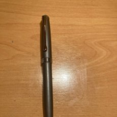Bolígrafos antiguos: PRECIOSO BOLÍGRAFO DE LA CAIXA, METÁLICO Y FUNCIONA. Lote 254000265