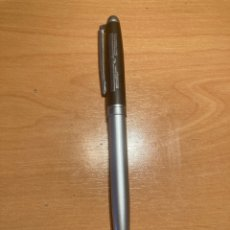 Bolígrafos antiguos: PRECIOSO BOLÍGRAFO DEL GOBIERNO VASCO, METÁLICO, FUNCIONA. Lote 254001460