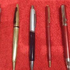 Bolígrafos antiguos: 6 BOLÍGRAFOS VARIADOS.. Lote 254613615